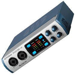 Presonus STUDIO 26 2x4 Audio Interface Portable Affordable Ultra High Def Recording Solution