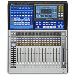 Presonus Studiolive 16 Series III Bluetooth Enabled 24 Input Digital Console/Recorder with Motorized Faders
