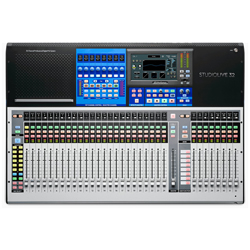 Presonus Studiolive 32 Series III 40 Input Digital Console/Recorder with Motorized Faders