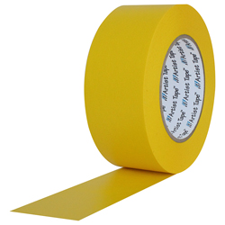"""Pro Tape ARTIST YELLOW Artist/Console Tape 1/2"""" x 60 Yds in Yellow"""