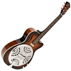 Washburn R15RCE Bluegrass Series Spider Resonator Cutaway Guitar with Pickup (Temporarily Unavailable)