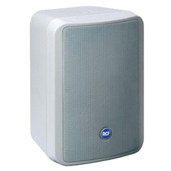 RCF MONITOR 55W Compact 55W 2 Way Reflex Speaker in White