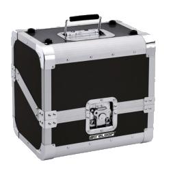 Reloop 80 Record Case Black Club Series 80 12 Inch Vinyl Record Box Case-Black