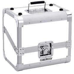 Reloop 80 Record Case White Club Series 80 12 Inch Vinyl Record Box Case-White