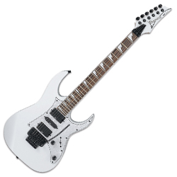 Ibanez RG350DXZ-WH-d RG Model 6 String Electric Guitar in White (discontinued clearance)  (Prior Year Model)