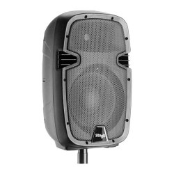 Stagg RIOTBOX8 US Rechargeable Battery Operated 8 Inch 2-Way Active Speaker with Analog and Bluetooth
