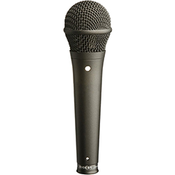 RODE S1B Live Performance Cardioid Condenser Vocal Microphone -Black Finish