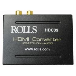 Rolls HDC39 HDMI Converter