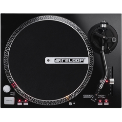 Reloop RP-4000M Turntable with Black Metallic Finish