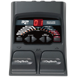 Digitech RP55 Multi-Effect Guitar Pedal with 20 Studio Quality Effects