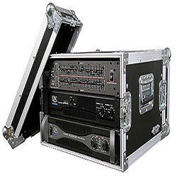 "Road Ready RR6UAD 6U Amplifier Deluxe Case – 18"" body depth"