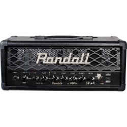 Randall RD20H Diavlo Series 20W Tube Guitar Head Black