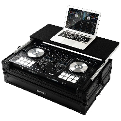 Reloop Mixon 4 MK2 Case with Hand-crafted Wood and Aluminum Construction