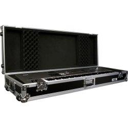 Road Ready RRKB76W 76-Key Board Case with Adjustable Z-Lock Foam
