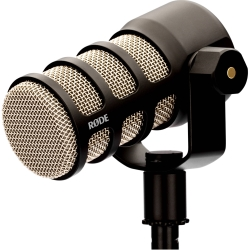 Rode PodMic Dynamic Cardioid XLR Mic Perfect for Podcasting