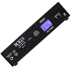 Rolls HRS84 Digital FM Tuner with Professional Line XLR Outputs