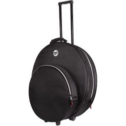 Sabian SPRO22 Pro 22 Cymbal Bag with Wheels-Black