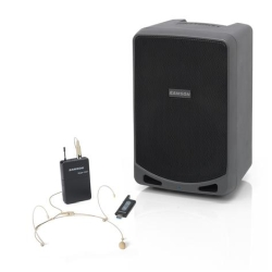 Samson XP106wDE Expedition Rechargeable Battery Operated Portable PA with Headset Wireless System and Bluetooth