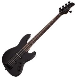 Schecter 2913-SHC J-5 RH 5-String Electric Bass-Gloss Black