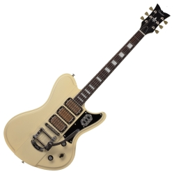 Schecter 295-SHC Ultra III 6-String RH Electric Guitar-Ivory Pearl