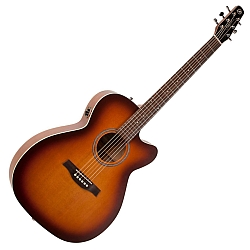 Seagull 041480 Entourage Rustic Concert Hall CW QIT Acoustic-Electric RH Sunburst  (discontinued clearance)