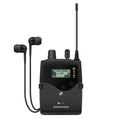 Sennheiser EK IEM G4-A Stereo Bodypack Receiver with IE4 Earphones A (516 - 558 MHz)