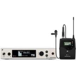 Sennheiser EW 300 G4-ME2-RC-AW+ Wireless Lavalier Microphone System Aw+ (470 - 558 MHz)