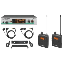 Sennheiser EW 300-2 IEM G3-B Wireless In-Ear Monitoring System