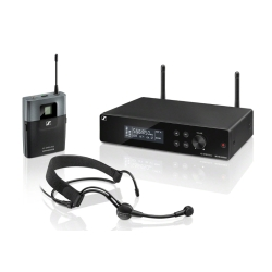 Sennheiser XSW 2-ME3-B Wireless Headset Microphone System (Frequency Range: 614-638 MHz)