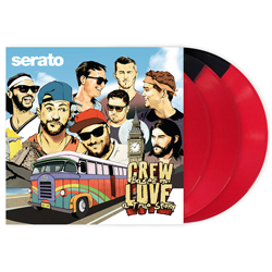 Serato SCV-SP-038-CL Crew Love 3 Vinyl Set with 12 Inch Vinyl Pressings for Serato DJ and Scratch Live