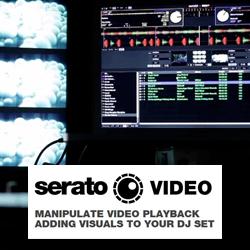 Serato SSW-VD-SVD-DL Video Playback Manipulation Software for Serato DJ (download version)
