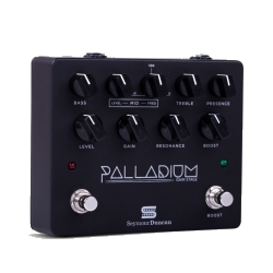 Seymour Duncan 11900-009B Palladium Gain Stage Overdrive/Preamp Effects Pedal in Black