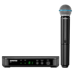 Shure BLX24/B58-H10 Wireless Handheld System with BETA58A Microphone