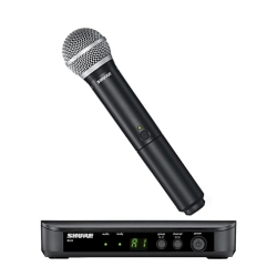 Shure BLX24/PG58 H-9 Wireless Handheld System with PG58 Microphone