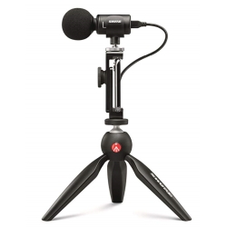 Shure MV88+ Video Kit Votiv Digital Stereo Condenser Microphone and Accessories for Smartphones