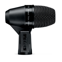 Shure PGA56-XLR PGA56 Cardioid Dynamic Snare/Tom Drum Microphone with XLR-XLR Cable