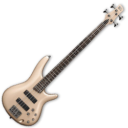 Ibanez SR300-CGD SR Series 4 String Solid Body Bass in Champagne Gold**DISCONTINUED CLEARANCE