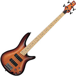 Ibanez Soundgear SR370MBBT RH 4 String Electric Bass Guitar in Brown Burst Finish – Discontinued Clearance