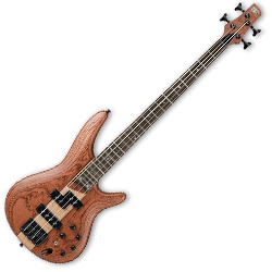 Ibanez SR750-NTF SR Series 4 String Solid Body Bass in Vintage Natural Flat (Discontinued Clearance)