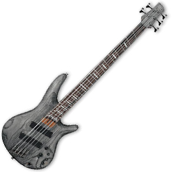 Ibanez SRFF805-BKS SR Series 5 String Solid Body Bass in Black Stained (Discontinued Clearance)