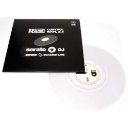 Rane DJ SSLVINYLV2CLR Serato Scratch Live Vinyl in Clear