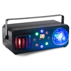 Stagg SLE-Trance40 Multi-Effects Box with Red and Green Lasers, Derby, Colour Wash and Discoball-NOT CSA APPROVED
