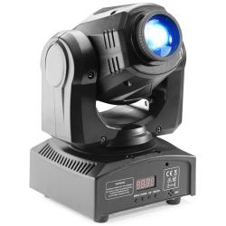 Stagg SLI-MHBTAGG30 Gobo Moving Head with 30-Watt COB LED, 7 Colours and 7 Gobos-NOT CSA APPROVED