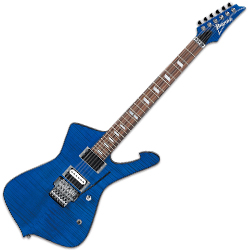 Ibanez STM2-SPB Sam Totman Signature Body 6 String Electric Guitar in Sapphire Blue (discontinued clearance)