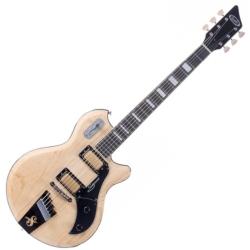 Supro 1296AN Silverwood 6 String RH Electric Guitar-Natural Ash