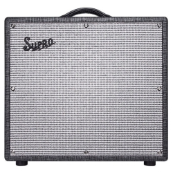 "Supro 1696RT Black Magick Reverb 25-watt 1x12"" Tube Combo Amplifier"
