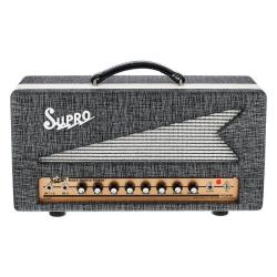 Supro 1696RTH Black Magick Reverb 25-watt Class A Tube Head Amplifier