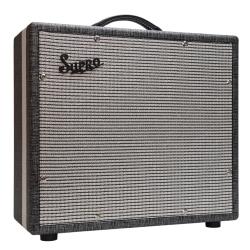 "Supro 1790 BLACK MAGICK 75-Watt 1x12"" Extension Guitar Cabinet"