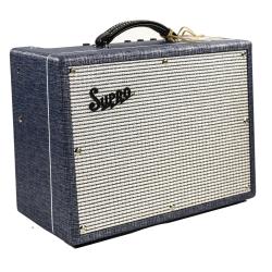 "Supro 1970RK Keeley Custom 1x10"" 25-watt Tube Electric Guitar Amplifier Combo"