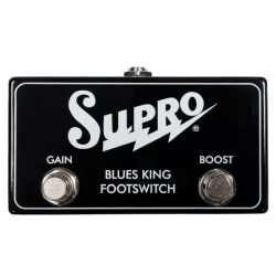 Supro SF4 Blues King Gain and Boost Footswitch